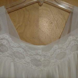 Lisette Intimates & Sleepwear - Vintage Lisette Al Sterling lace pignoir and gown